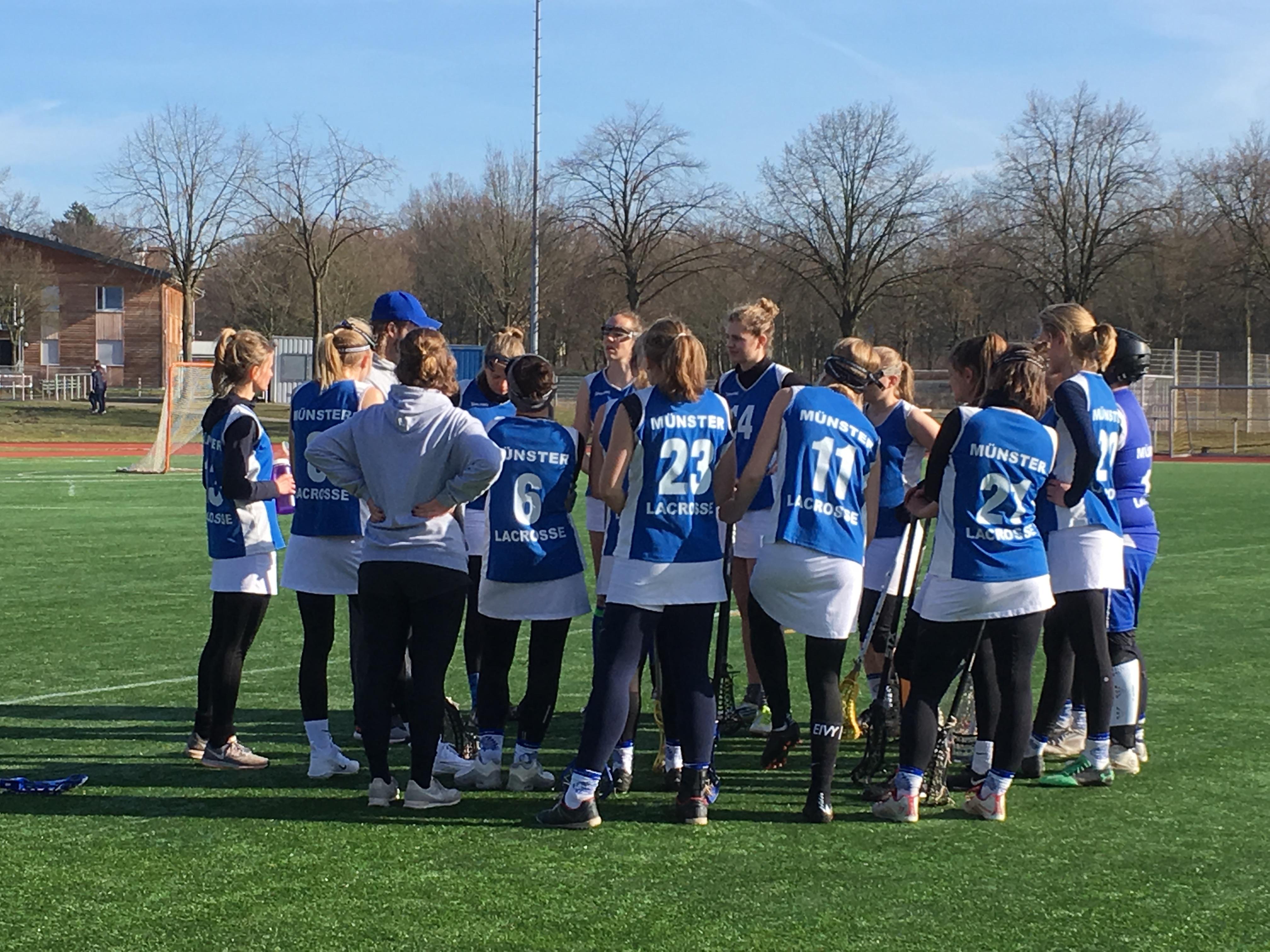 Münster Mohawks laden Damennationalmannschaften zur Rückrundenvorbereitung ein