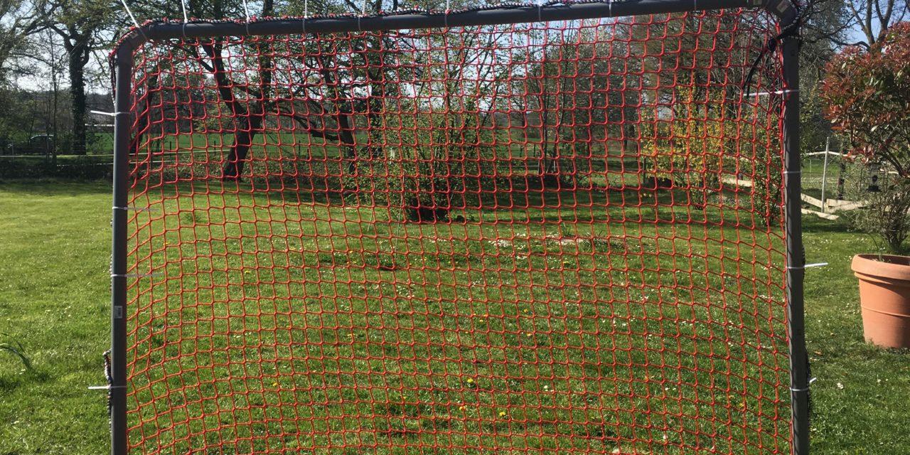 Training in Krisenzeiten – Lacrosse Tor DIY