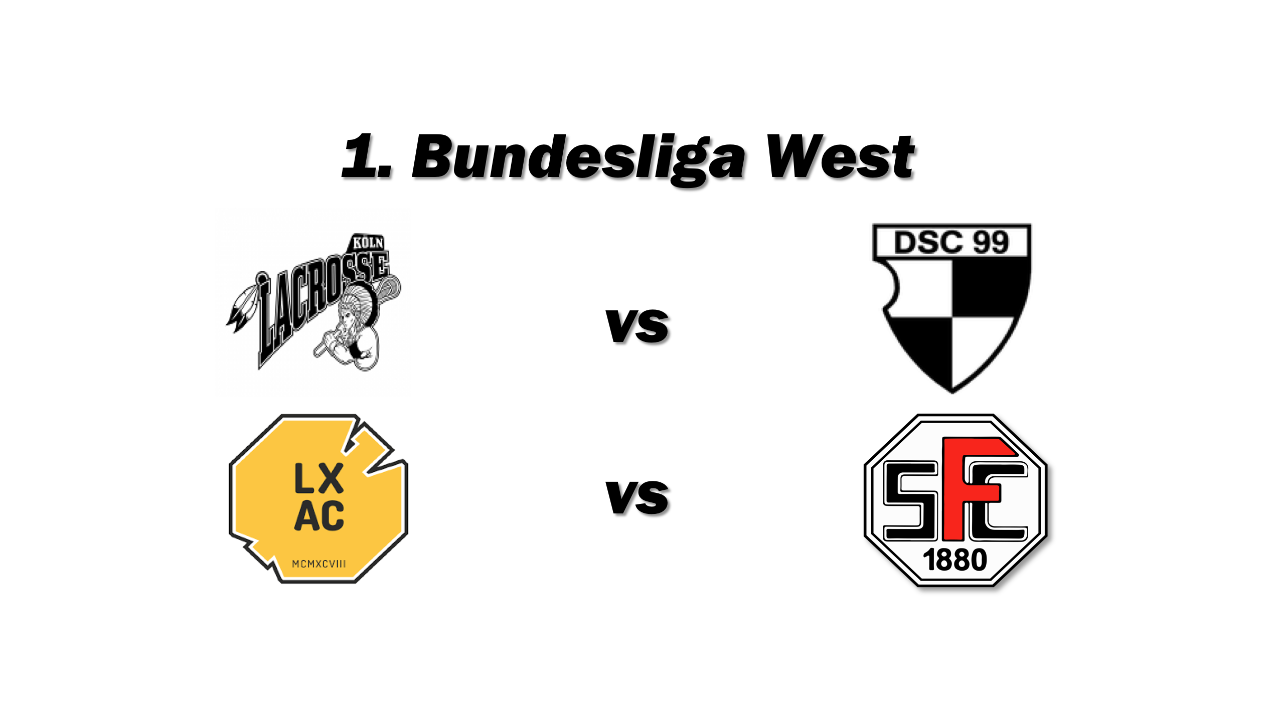 1. Bundesliga West der Damen