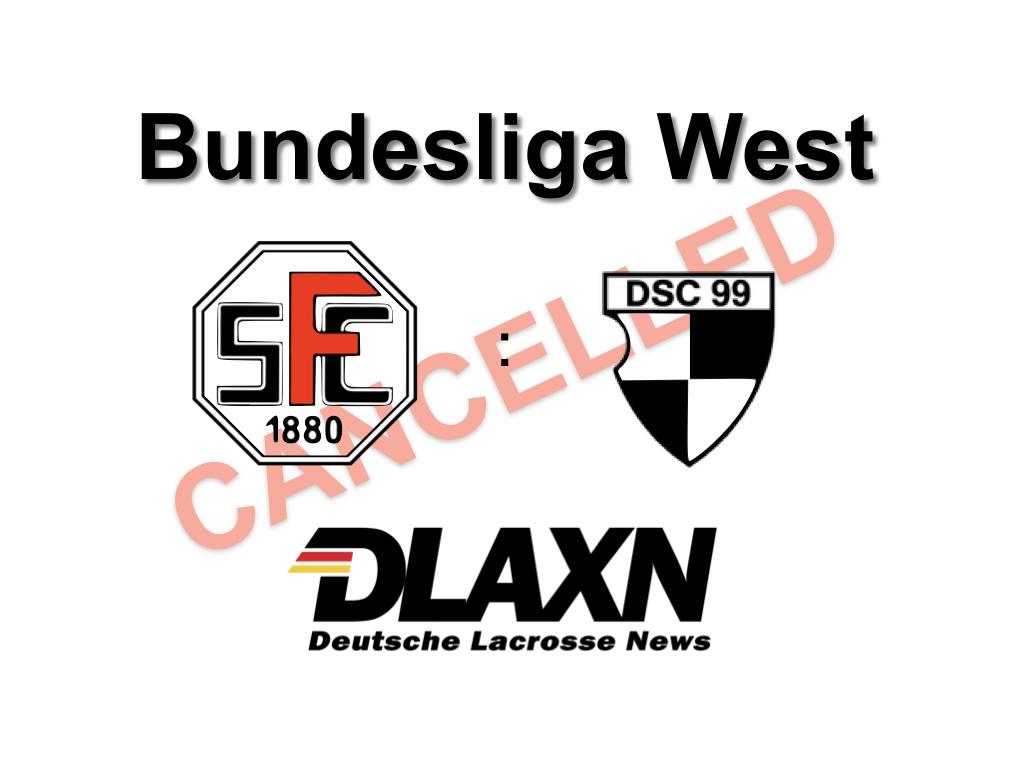 Düsseldorf sagt Spiel in Frankfurt ab