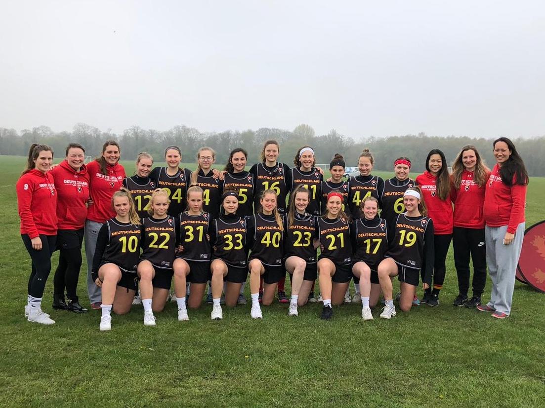 Vorstellung der deutschen U19 Damen Nationalmannschaft