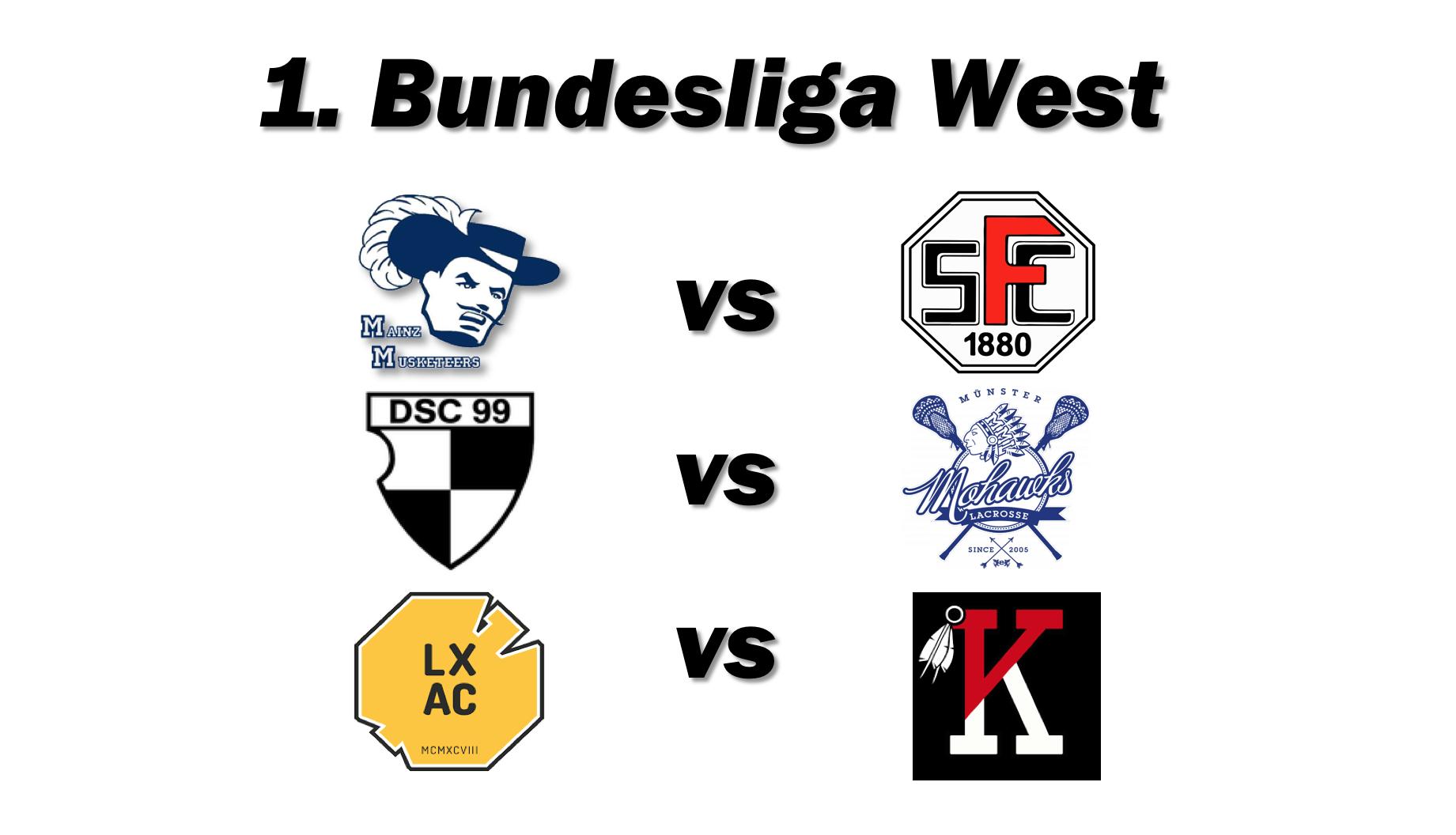 Einige der letzen Ligaspiele in dieser Saison finden im Westen statt