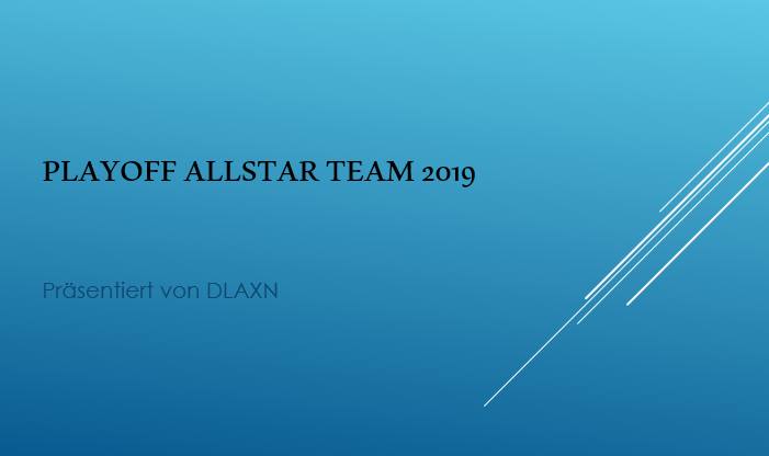 Playoff Allstar Team 2019