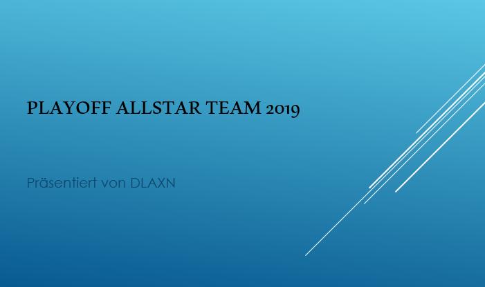 Playoff Allstar Team 2019