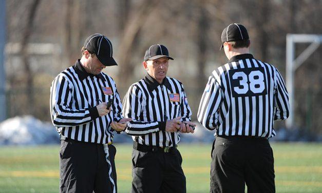 Ein Appell an die Schiedsrichter und Spieler