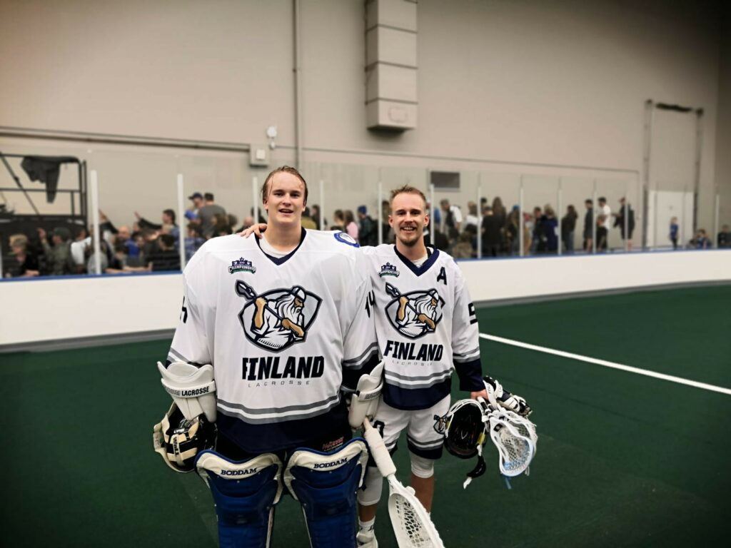 The Jokela brothers during the WILC in Langley